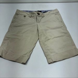 American Eagle Outfitters Khaki Favorite Shorts
